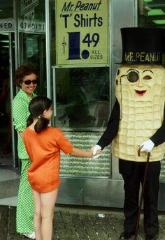 Meeting Mr Peanut