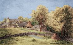 Thomas Carlyle's house by Helen Allingham