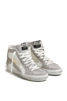 Golden Goose sneakers slide white canvas Golden Goose shop online