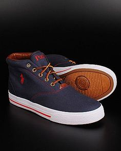 Ralph Lauren Polo sneakers - Navy Blue