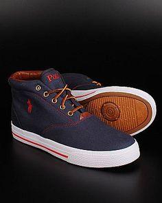 Ralph Lauren Polo sneakers - Navy Blue