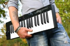 IK Multimedia, the leader in mobile music creation, is pleased to announce iRig Keys 25, iRig Keys 37 and iRig Keys 37 PRO. These three new MIDI keyboard controllers are specifically designed with …