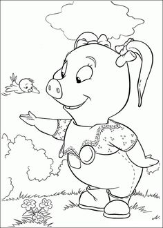 Coloring pages for kids. All your favorite cartoon stars are here ! Coloring Pages For Kids, Coloring Books, Snoopy, Cartoon, Barn, Pictures, Fictional Characters, Pigs, Stamps