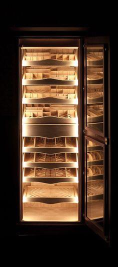 Grand Cigar Cabinet | Maklary Humidors Cigar Club, Cigar Bar, Good Cigars, Cigars And Whiskey, Cuban Cigars, Cigar Humidor Cabinet, Zigarren Lounges, Lounge Design, Design Design
