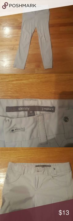 Slim Fit Work Trousers Slim fit work trousers has a slim fit  and stretchy material. Size 34 which is US Size 2. Pre-loved and in excellent condition. 2 back pockets; 2 front fake pockets.  Fast shipper Open to reasonable offers. Pants Skinny