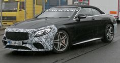 Updated 2018 Mercedes-AMG S63 Cabriolet Visits The 'Ring #AMG #Mercedes