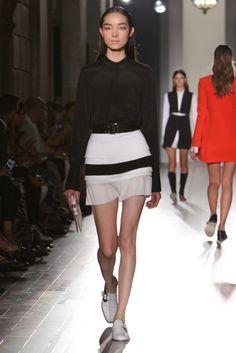 Accessories Trends: No Gray Area (Victoria Beckham RTW Spring 2013)