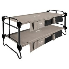 Best Camp Bed Reviews: Comparisons Features Specs Photos Videos Guide. ALPS Coleman Lightspeed Desert Walker Exped Therm-A-Rest Byer Tough Intex Disc-O-Bed. #campingbed #campbeds #campingcots #foampads #foammattresses #inflatablepads Camping Bunk Beds, Camping Mattress, Cargo Trailer Conversion, Rv Makeover, Hanging Organizer, Cot Bedding, Bed Reviews, Double Beds, Steel Frame