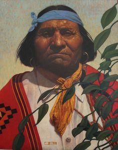 Behind Leaves of Wisdom - ThomasBlackshearArt Native American Paintings, Indian Paintings, Native American Art, American Indians, Character Illustration, Illustration Art, Thomas Blackshear, Southwestern Art, Historical Art