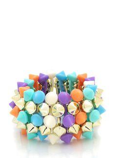 spike stretch bracelet $7.50