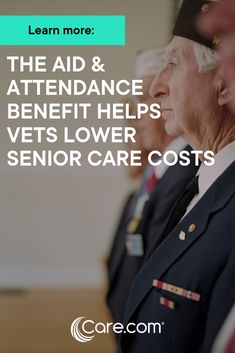 How The Aid And Attendance Benefit Can Help Veterans Lower Senior Care Costs Veterans Services, Military Benefits, Veterans Benefits, Funeral Planning, Social Security Benefits, Aging Parents, Military Love, Elderly Care, Attendance