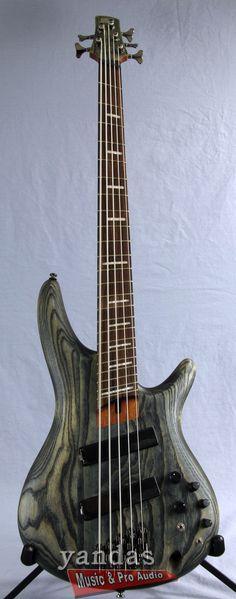 Ibanez SRFF805BKS Workshop Series 5-String Bass Guitar