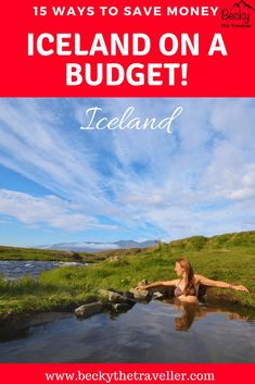 Travelling to Iceland on a budget? Here are 15 great ways to save money on your trip and see this beautiful country without breaking the bank! Iceland camping tips | Iceland Road trip | Eating out in Iceland | Iceland travel tips | Saving money in Iceland | Blue Lagoon money saving tips
