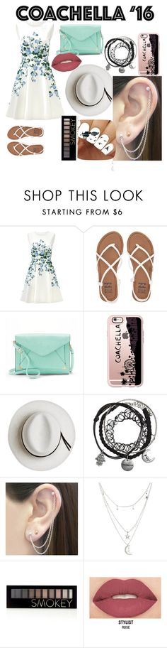 """Coachella 2016"" by xxxcaptainamericaxxx ❤ liked on Polyvore featuring ERIN Erin Fetherston, Billabong, Apt. 9, Casetify, Calypso Private Label, Otis Jaxon, Charlotte Russe, Forever 21 and Smashbox"