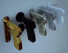 Poignées de porte Bang-Bang Door Handle créé par Nikita Kovalev