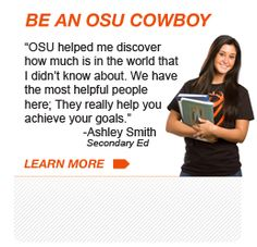Learn how to Be an OSU Cowboy!