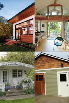 A primer on ADUs: different flavors, various benefits, and financing options. Seattle Homes, Living Spaces, Real Estate, Cabin, House Styles, Outdoor Decor, Design, Home Decor, Decoration Home