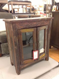 Another Distressed.salvage Table, This Time From TJ Maxx