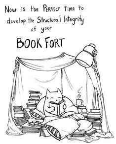 Book Fort Reminder | 15 Fantastic Etsy Gifts For Your College Dorm