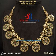 A standout 92.5 silver necklace decorated with traditional flower motifs. Grab this delicious piece before it runs out of stock! Pick this from Shree Ambica - Your Trusted Jewellers for the upcoming festive/wedding season. Readily available in stock For Price and Details Message on - +919866110500 #ShreeAmbica #TrustedJewellers #SilverJewellery #jewelryaddict #handcraftedjewellery #finejewellery #weddingsutra #jewelryforsale #jewelryswag #jewelrygoals #musthave #sterlingsilverjewelry #Silver Silver Jewellery, Sterling Silver Jewelry, Fine Jewelry, Wedding Sutra, Jewellery Designs, Wedding Season, Handcrafted Jewelry, Must Haves, Festive