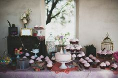 Junipero Serra Museum | Studio Castillero Photography  Wedding Photography, Dessert Table, Pale Pink Color Scheme, Archway, Historic Venue