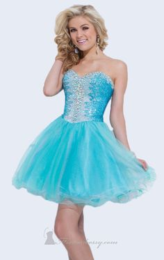 Strapless Soft Tulle Dress by Tony Bowls Shorts for sale at $358.00 amazing price, it is designer dress and made to order! Its product model is [designerdrsses1112] . CHEAPERDESIGNERDRESSES.COM , will be your friend.