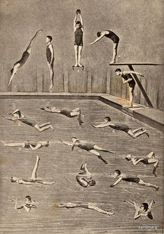 sandmarg:  1898 How to Swim and Dive