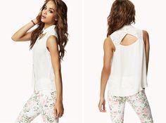 Cutout Lace Yoke Shirt | 20 Classy Cutouts