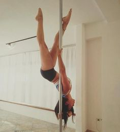 Pole Fitness Moves, Pole Dance Moves, Pole Dancing Fitness, Barre Fitness, Fitness Exercises, Aerial Dance, Aerial Hoop, Aerial Silks, Pole Dance Studio