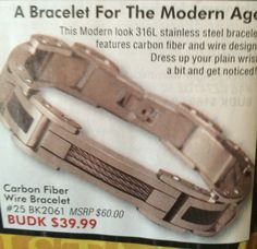 44aadce41a3 Carbon fiber wire bracelet  39.99. Shad Green · Wish List