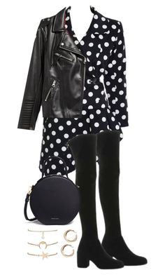 """""""Untitled #4786"""" by theeuropeancloset ❤ liked on Polyvore featuring Yves Saint Laurent, Stuart Weitzman, Mansur Gavriel and H&M"""