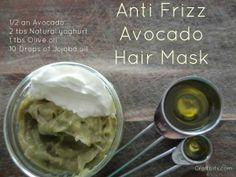 Anti Frizz Avocado Hair Mask — craftbits.com
