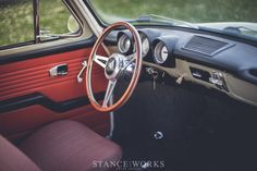 Nothing Short of Perfect - Paul Holst's 1965 Volkswagen Type 3 Notchback - Stance Works