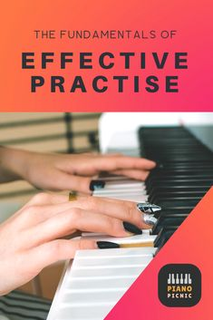 I've been spending time practising and getting nowhere! This guide to effective practising has helped me stop treading water and make actual progress in my playing. Treading Water, Everyone Knows, Piano, Student, Learning, Tips, Design, Studying