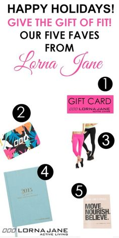 5 Must Have Holiday Gifts from Lorna Jane