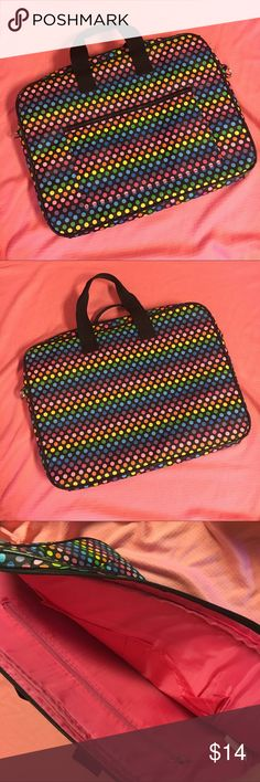 """13-13.3"""" Laptop Bag Condition: like new! Excellent condition 💗 Make me an offer! Everything must go! 💗 Bundle and save!! 💗 Comment with questions :) Bags Laptop Bags"""