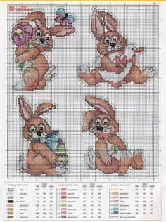 Cross-stitch Bunnies & More Bunnies...     Gallery.ru / Фото #170 - 45 - markisa81