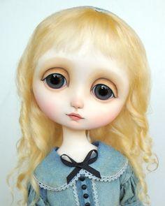 Danielle - original doll by Ana Salvador
