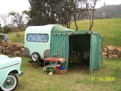 Vintage Caravans - ANNEX & AWNINGS FOR VINTAGE CARAVANS