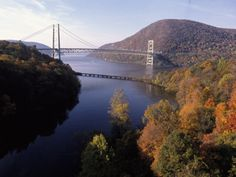 Bear Mountain Bridge, Hudson River, NY