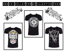 """""""New In: Bullet For My Valentine Tees"""" by bluebanana ❤ liked on Polyvore featuring Bullet"""