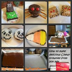 These are EASY Halloween dessert recipes made BY KIDS for KIDS Halloween parties!