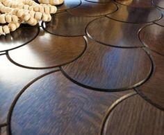 Wooden Floor Tiles – Parquet And Tiles In One | DigsDigs