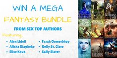 Win This Mega Fantasy Book Bundle and Fill Your Bookshelves