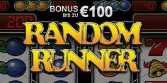 EXKLUSIV: Erhalte jetzt 100€ Willkommensbonus von Online-Casino.de für das Spiel Random Runner™ aus dem Hause Novomatic! http://www.online-casino.de/stargames-bonus-angebot/ Hierbei handelt es sich um ein zeitlich begrenztes Angebot! #stargames #novoline #randomrunner