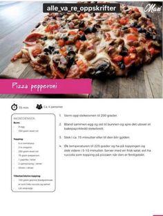 Pepperoni, Vegetable Pizza, Vegetables, Food, Essen, Vegetable Recipes, Meals, Yemek, Veggies
