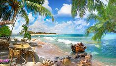 Если вы хотите наслаждаться красотой морского берега, высоких скал или водопада, вам совсем не нужно ехать куда-то для этого.