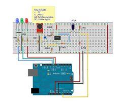 Montaje del organo de luces con Arduino
