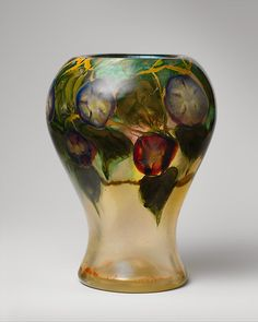 Favrile glass vase, ca. 1913. Tiffany