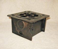 Vtg Folding Sterno Camp Stove ~ Single Burner Camping Metal Solid Fuel Cooking ~ Vintage  $12.50